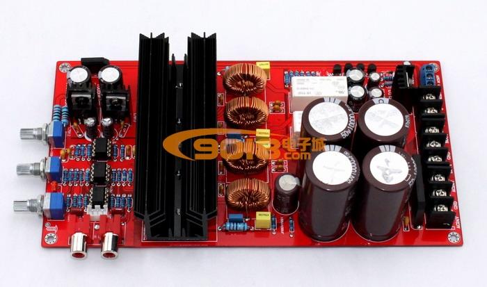 1三声道低音炮d类数字功放板