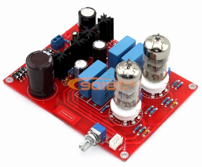 发烧音响 发烧电路 前级板 6n3电子管前级 功放发烧胆前置板 成品板