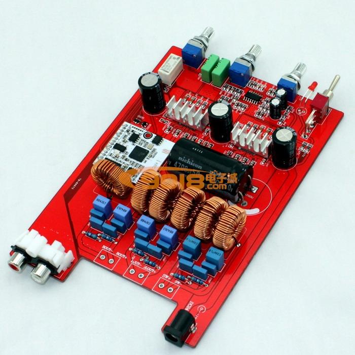 1低音炮带蓝牙接收d类数字功放板 (100w 50