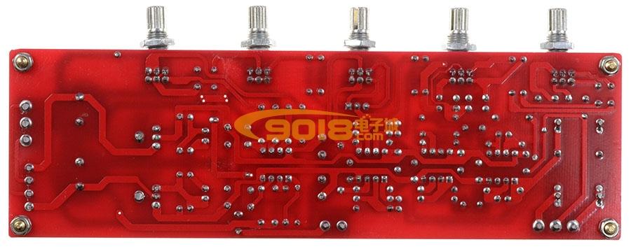 发烧ic ne5532 高保真2.1音调板 低音炮前级板 低通滤波板