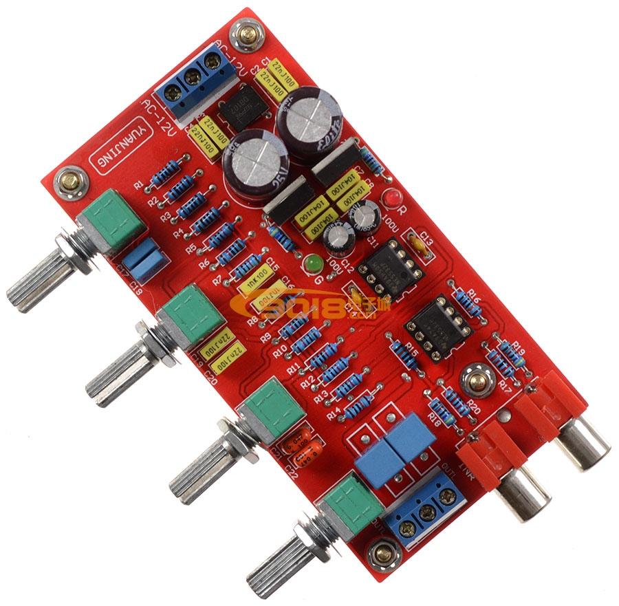 发烧音响 发烧电路 音调板 德州ne5532高级高保真发烧音调板 成品板