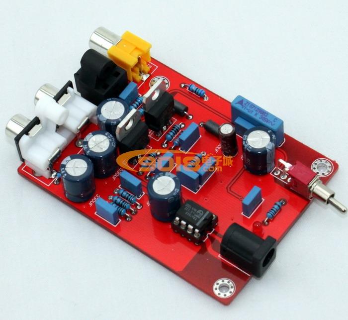 发烧音响 发烧电路 dac解码板 飞利浦 tda1543 cs8412 解码板 dac数字