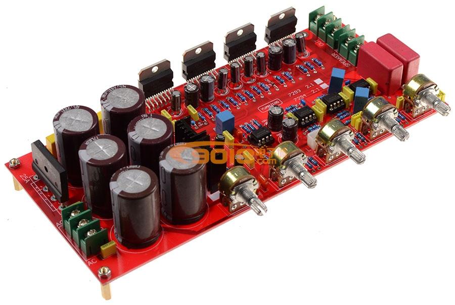 tda7294 2.1声道(2*80w 160w)低音炮高保真hifi发烧功放板