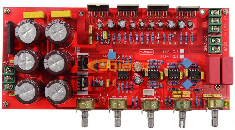 1声道(2*80w+160w)低音炮高保真hifi发烧板