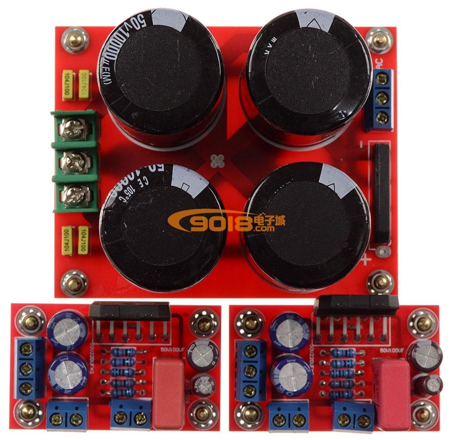 LM3886分体式高保真发烧功放板(成品板)含整流板 官方标准线路
