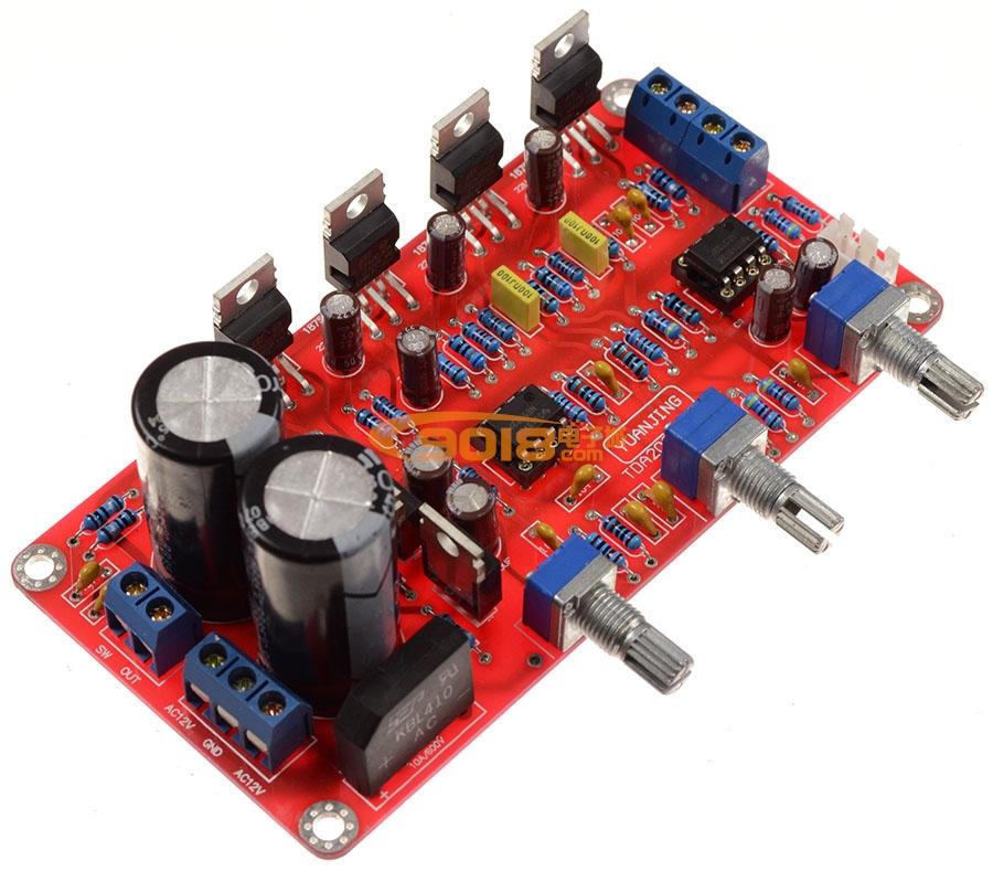 ne5532低音炮电路