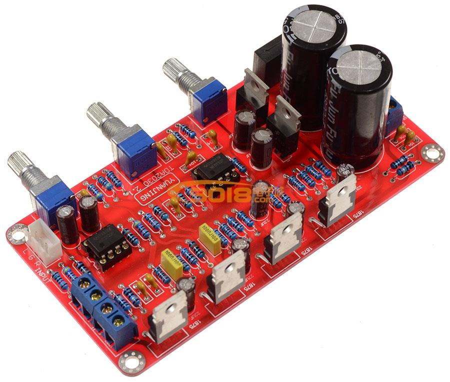 tda2030a功放模块低音炮电路图