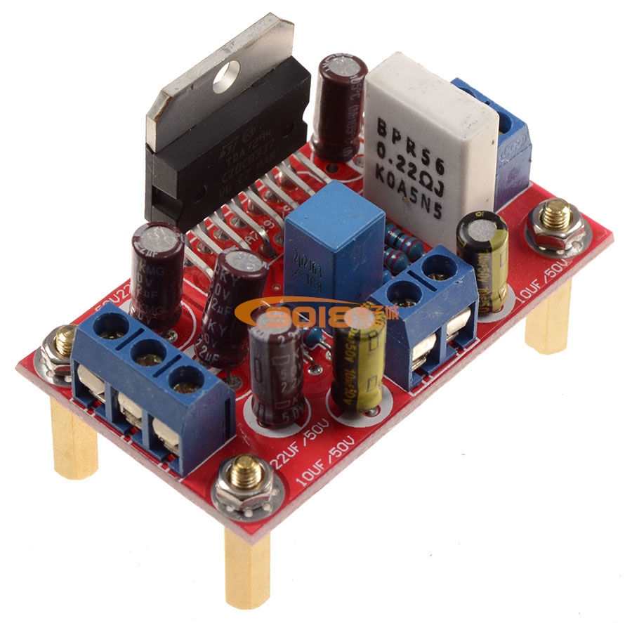 发烧音响 发烧电路 功放板 tda7294分体式双声道高保真发烧功放板 带