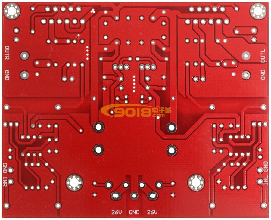 lm3886发烧功放板 成品板/pcb空板