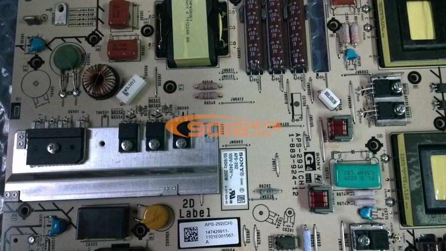 家电配件 电视机配件 电视机主板/线路板 全新原装索尼电源板 aps-292