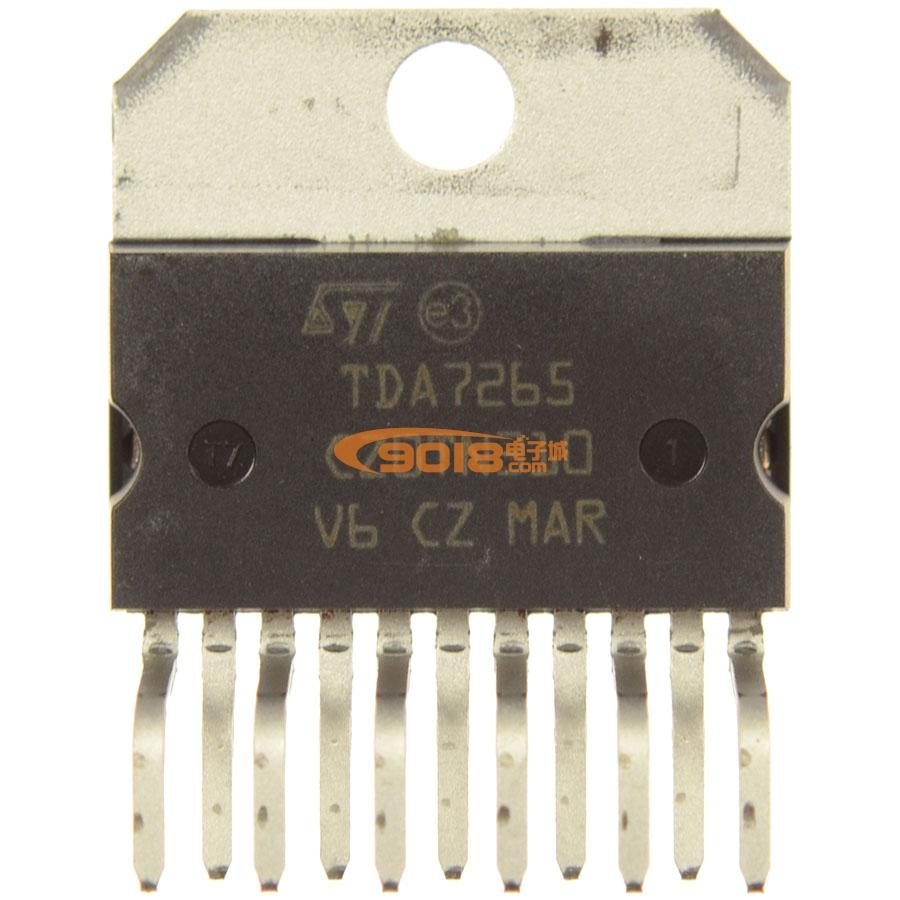 集成电路 系列ic tda系列 全新原装正品st牌 tda7265 双声道音频功放