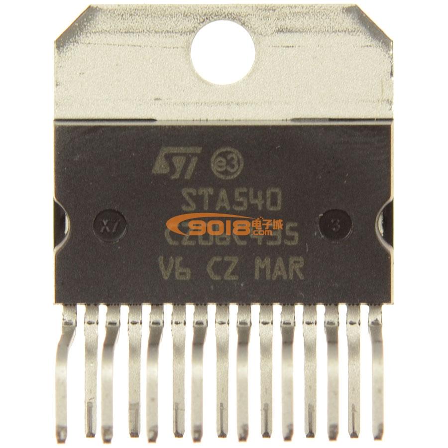 sta540四声道音频功放ic集成块