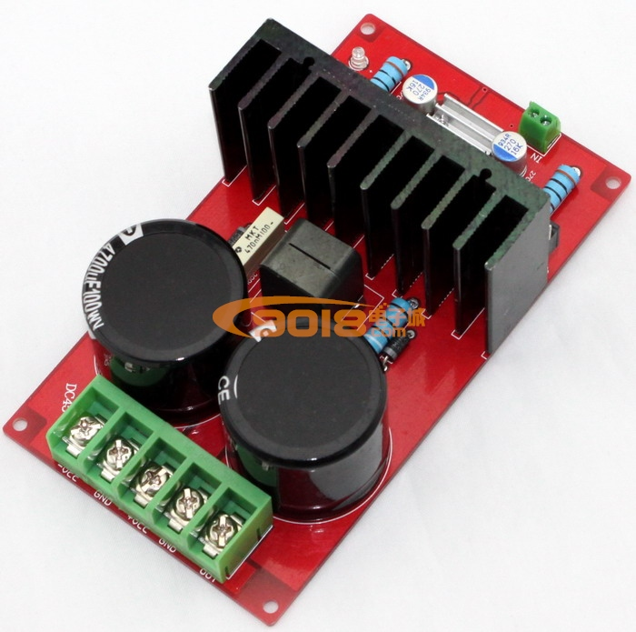 irs2092大功率单声道d类数字功放板