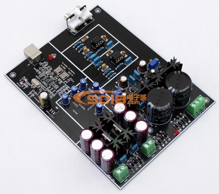 发烧音响 发烧电路 dac解码板 ak4399 sa9227 dac usb解码板