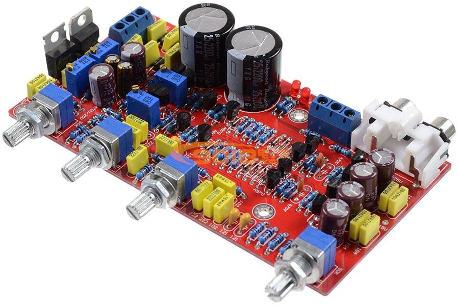 分立元件型发烧音调板(仿马兰士电路)