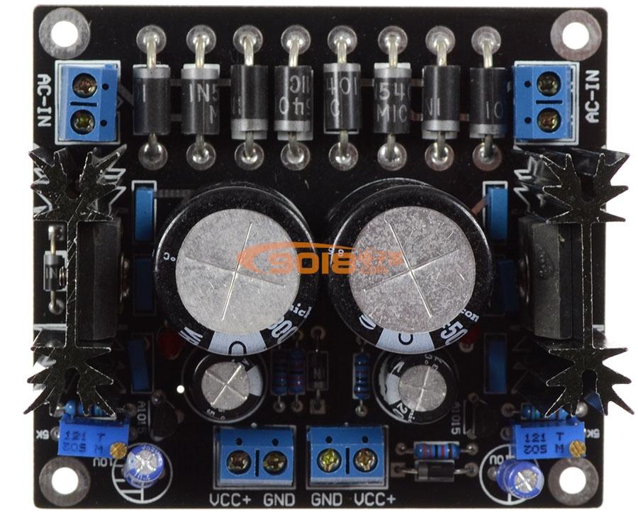 大功率可调稳压电源板
