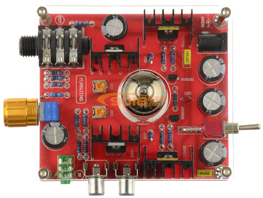 发烧级6n11电子管甲类耳机放大板 胆耳放 成品板