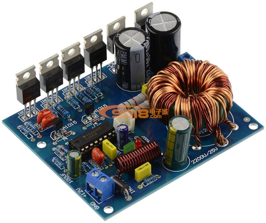 180w汽车功放升压开关电源板