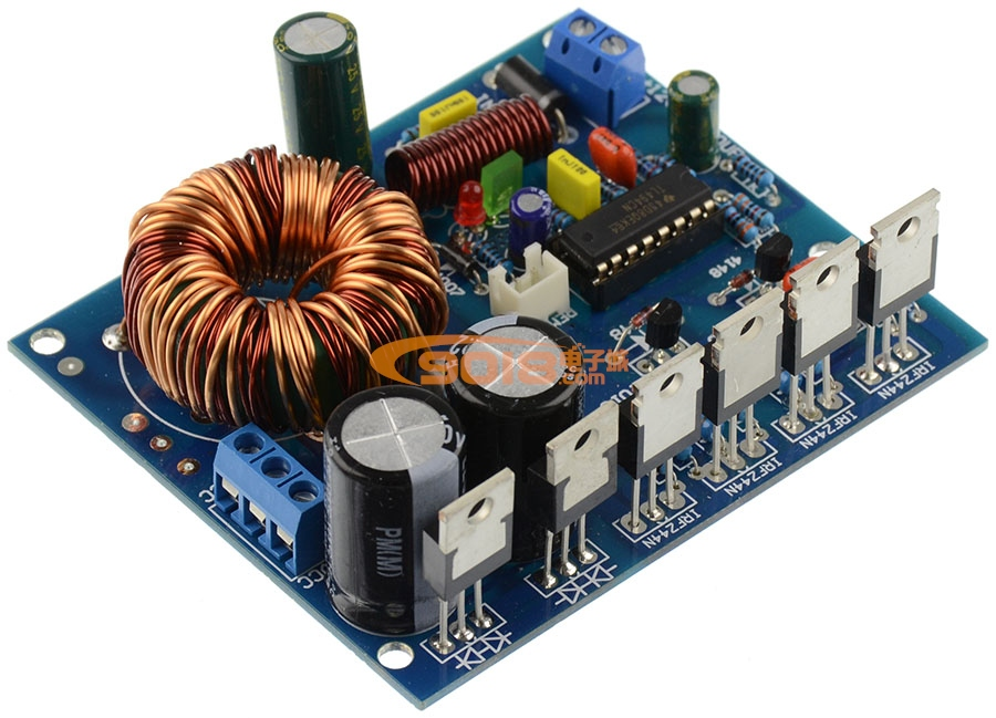 电源板 单dc12v转正负±12~25v输出
