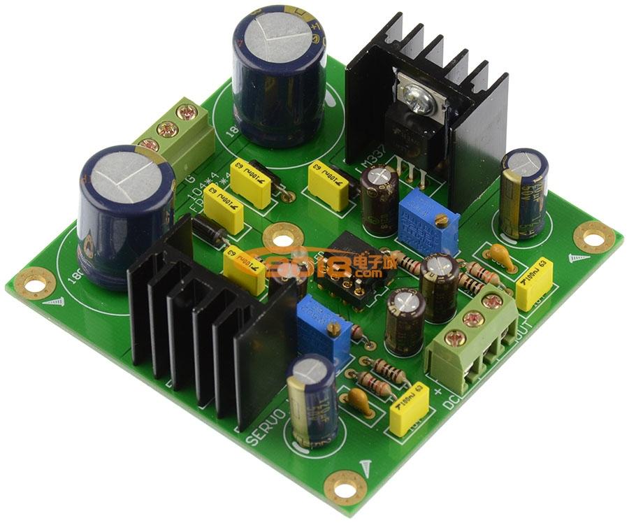 lm317/337直流伺服可调稳压电源板