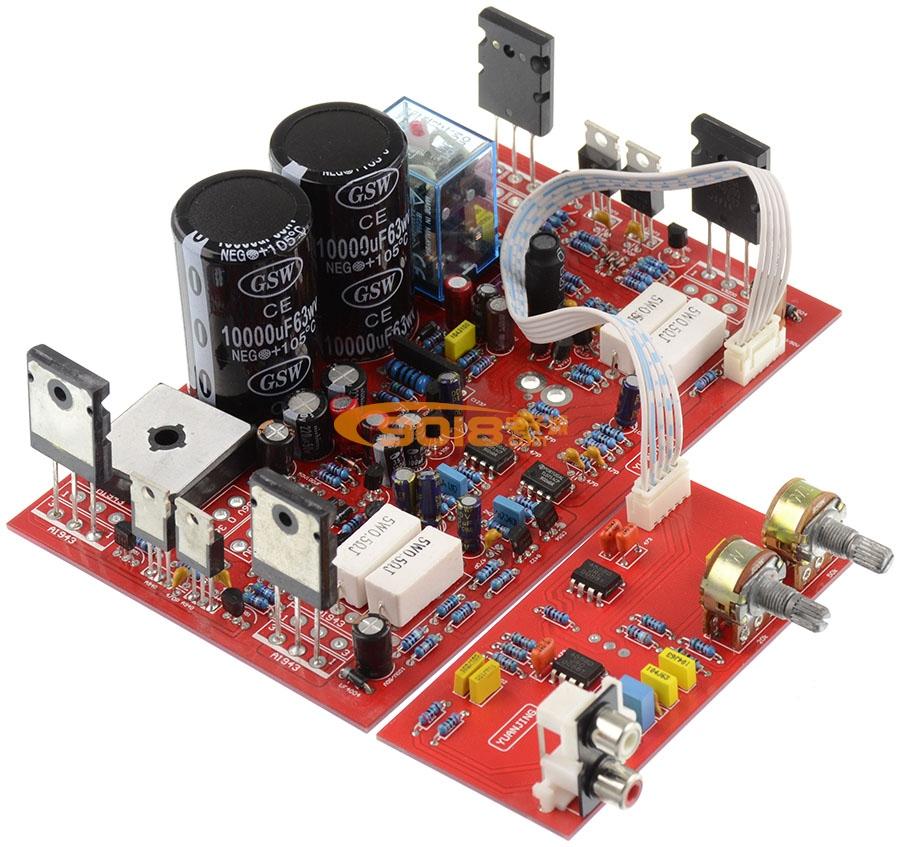 低音炮发烧功放板 含低通滤波板