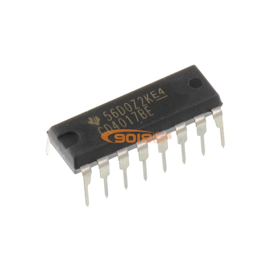 全新原装cd4017 cd4017be数字集成电路/数字逻辑ic芯片集成块
