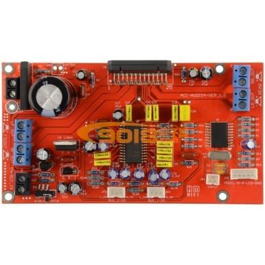 道带前级音调 TDA7388汽车音响 车载功放板 家庭影院 成品
