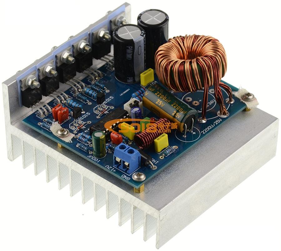 180w开关电源板散热器 铝散热片(100*49*90mm)