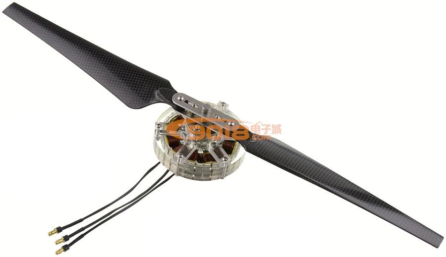 12n16p-6512 4-6s盘式无刷电机 多轴旋翼 航模 无人机 飞行器 含线圈