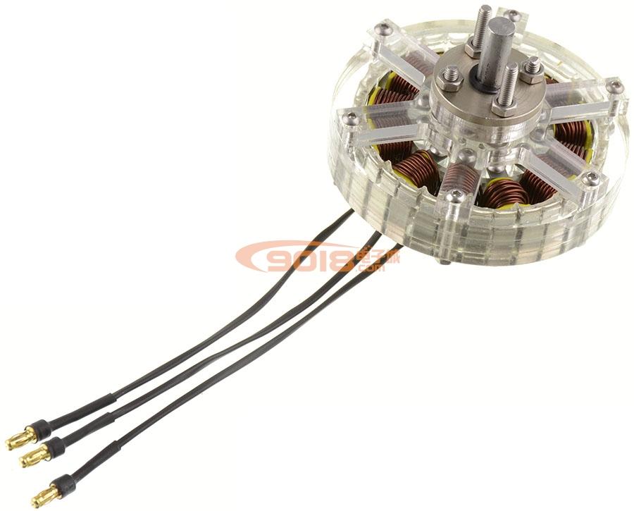 12N16P-6512 4-6S盘式无刷电机 多轴旋翼 航模 无人机 飞行器 含线圈 成品