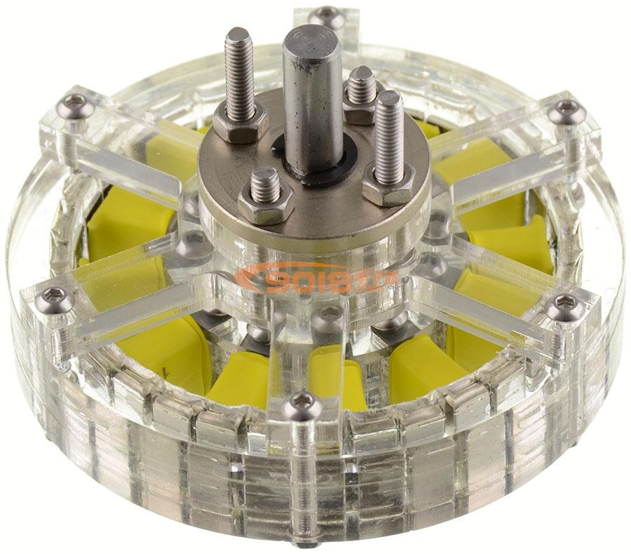 12n16p-6510 4-6s盘式无刷电机 多轴旋翼 航模 无人机