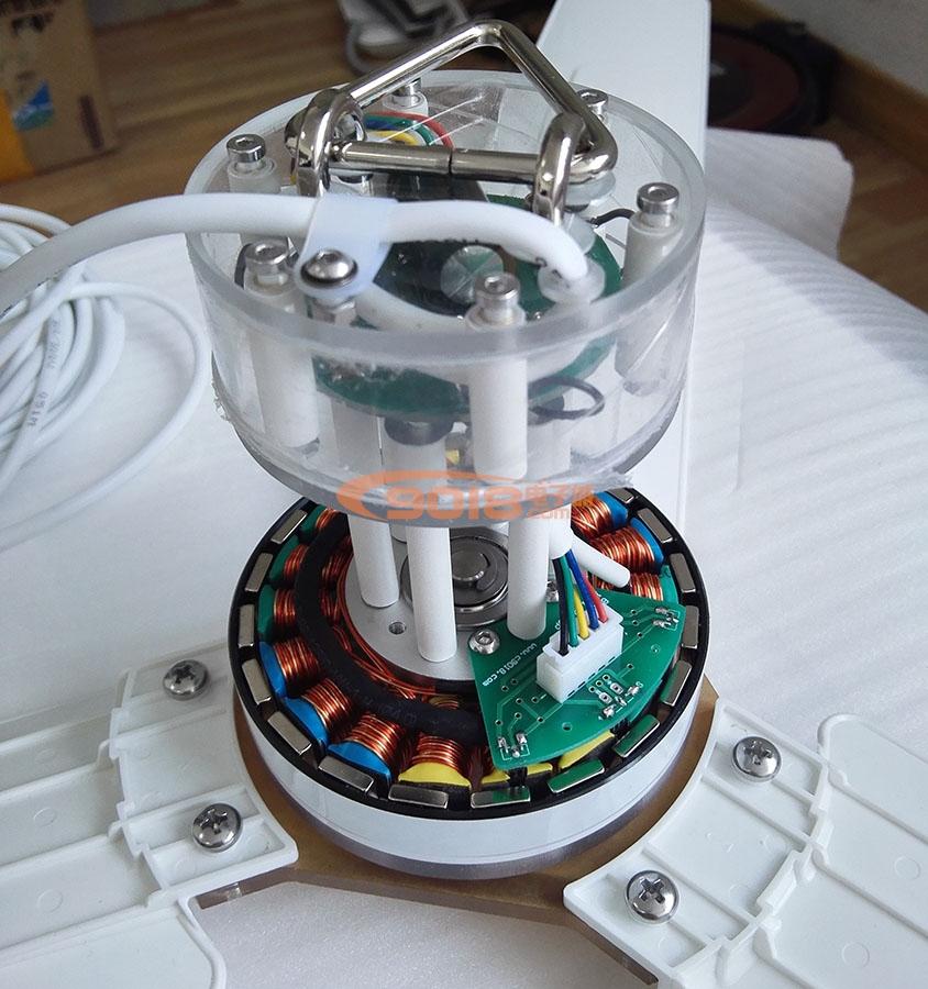 昊极900mm直流变频电机电扇 静音微风吊扇 微型无级变速 可调速吊扇