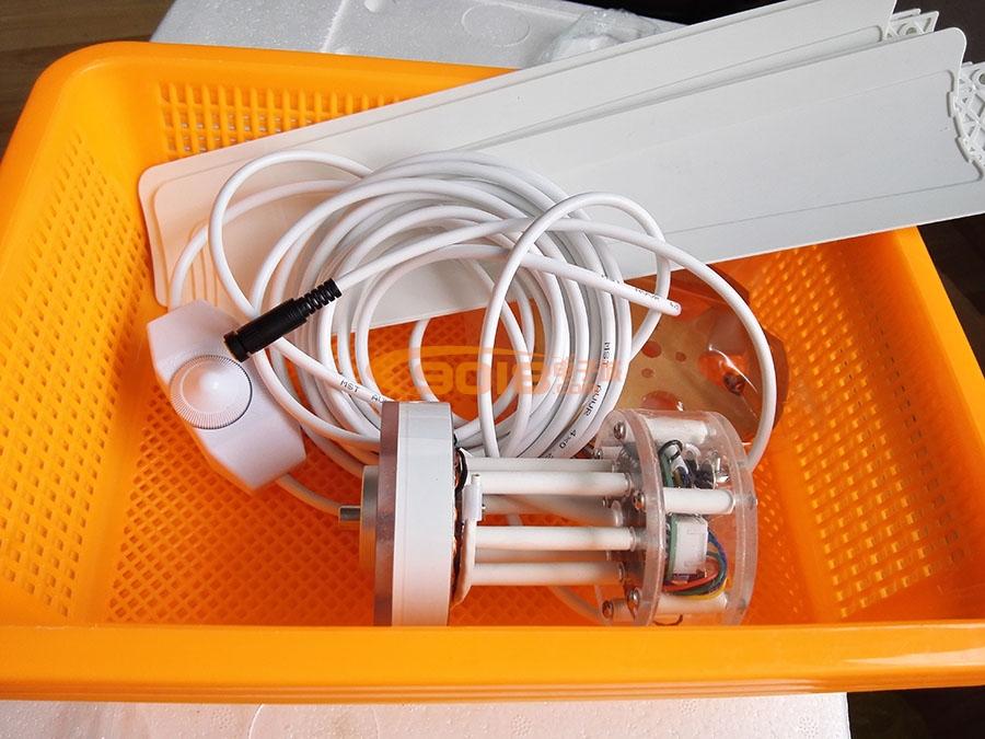 700mm直流无刷电机微型吊扇 蚊帐微风电扇 可无级调速 12V静音风扇 3叶片