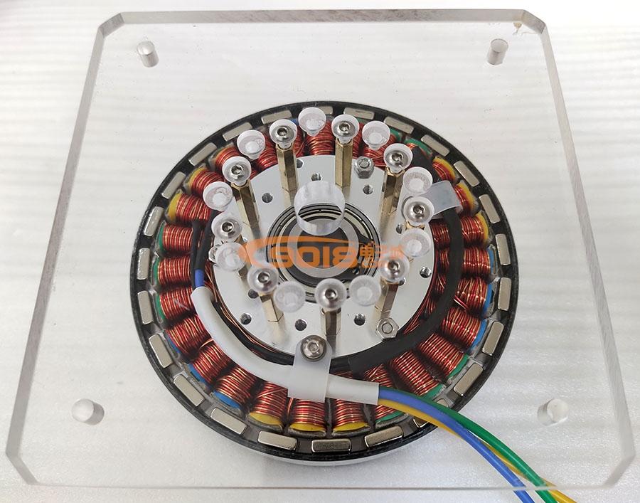盘式手摇直驱交直流发电机模型 人力发电机 锂电池/充电器 5W 3-12v 1A=1000ma