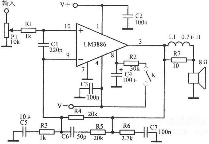 lm3886tf原装进口单60w发烧功放集成电路