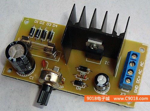 lm可调稳压电源_317可调稳压电源套件_lm317可调稳压电源板_
