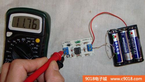 5-12v升压电路电子制作套件/散件