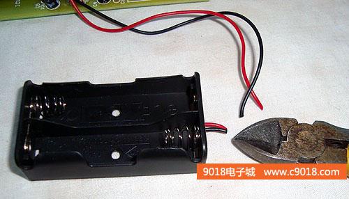 led摇摇棒电子制作套件/散件(at89s51单片机应用电路