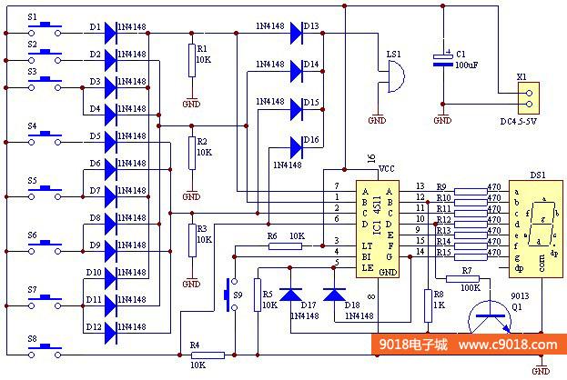 四,电路原理图