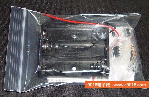 ne555触摸延时电路电子制作套件/散件(单稳态触发器)